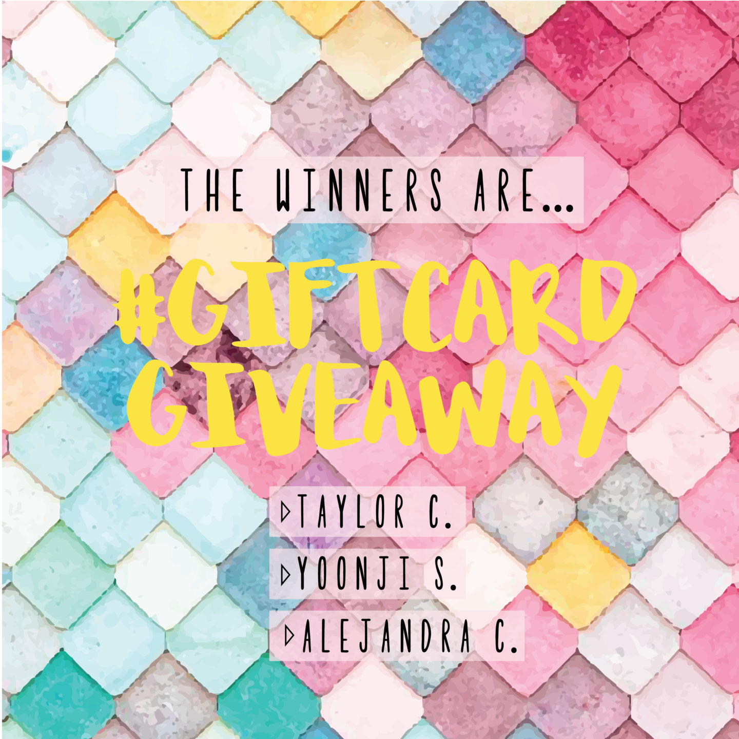 goodnight macaroon monthly giveaway winners blog