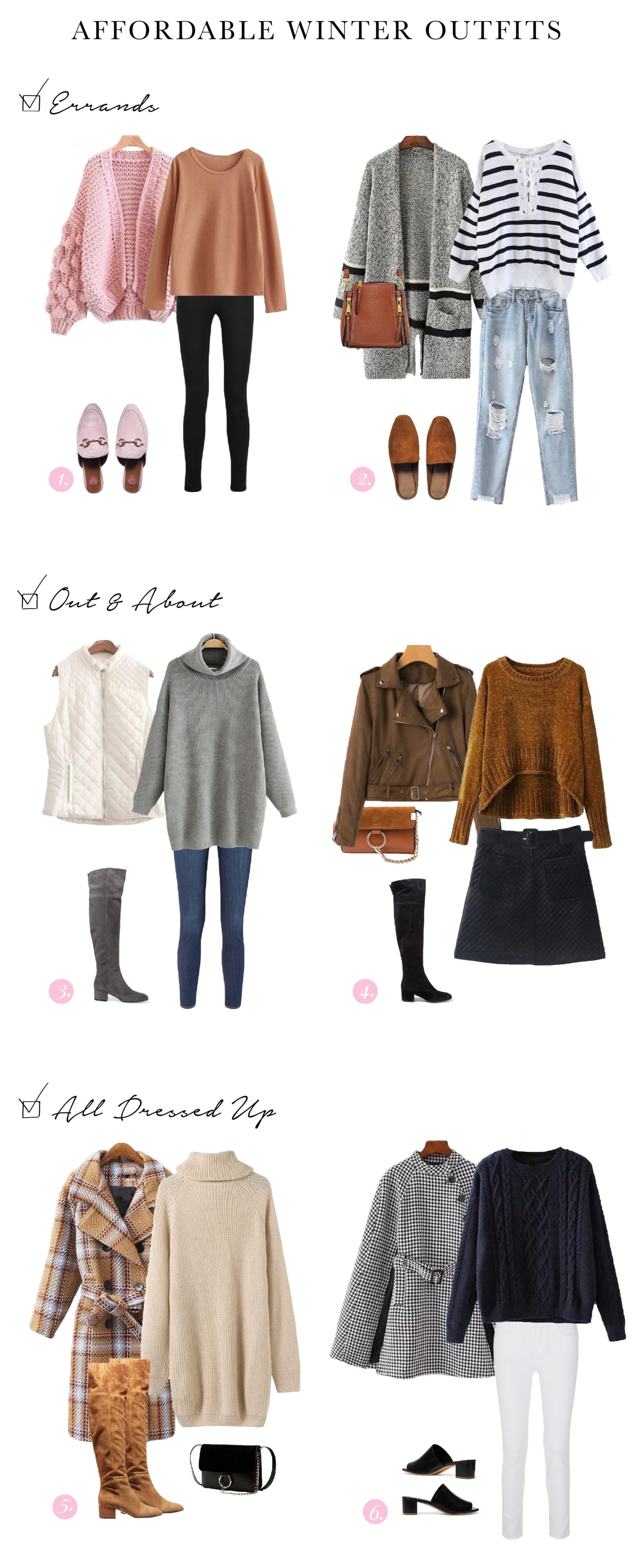 GOODNIGHT MACAROON WINTER OUTFIT IDEAS AFFORDABLE ONLINE SHOPPING